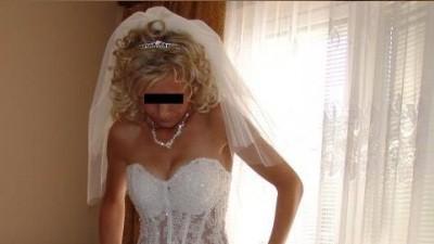 piekna suknia ślubna angel