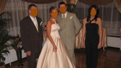 Piękna suknia ślubna  Anna Skrzyszowska STYL