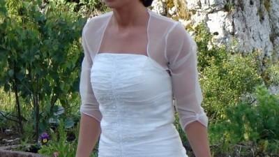 Piękna suknia ślubna Aspera 2017 -Svarowski- rozm.34