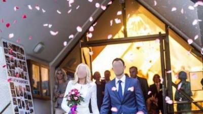 Piękna suknia ślubna - bardzo tanio!