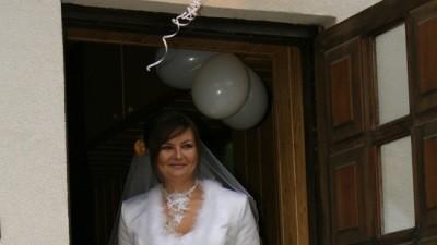 Piękna suknia ślubna biała z salonu!