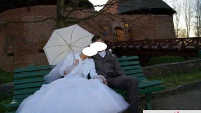 Piękna suknia ślubna!!! Cena do negocjacji!!!
