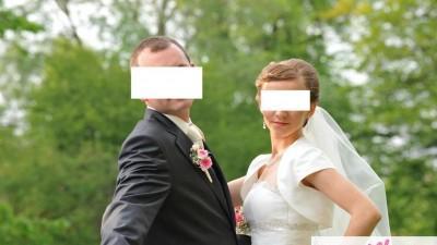 Piękna suknia ślubna cymbeline rozm.36-38 princeska
