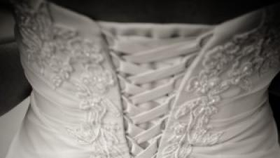 Piękna suknia ślubna David's Bridal 34/36 JAK NOWA dodatki gratis
