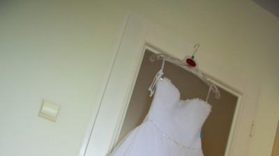 Piękna suknia ślubna, elegancka, tiul - księżniczka Wings Queenstone