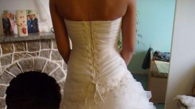 Piekna Suknia ślubna Emmi Mariage Vanilla 2011
