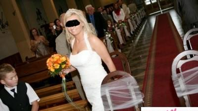 Piękna suknia ślubna, firmy GALA!!!!