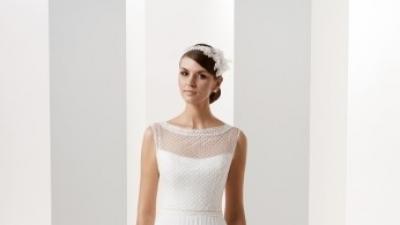 Piękna suknia ślubna firmy Gala model Graffi