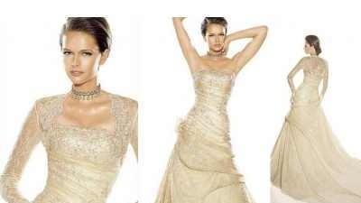 Piękna suknia ślubna firmy La Sposa