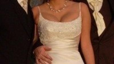 Piękna suknia ślubna firmy San Patrik
