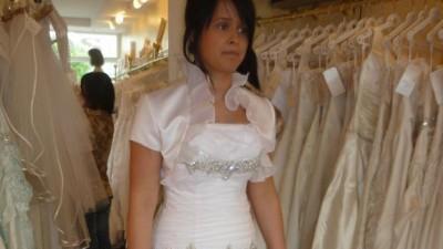 Piękna suknia ślubna firmy ŻANNET 36/38