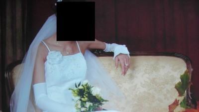 Piękna suknia ślubna gorset 34/36/38 welon gratis Swarovski