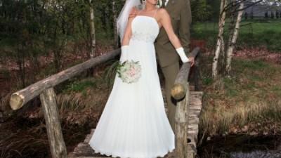 piękna suknia ślubna jedyna w swoim rodzaju