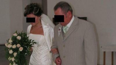 Piękna suknia ślubna Justina Alexandra