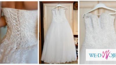 Piękna suknia ślubna KINGA