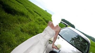 piękna suknia ślubna Madonna