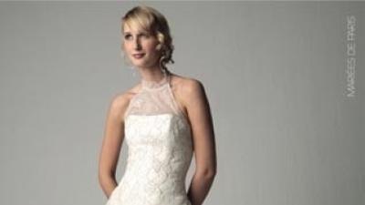 Piękna suknia ślubna mariees de paris, model Fiena 2007