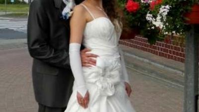 Piękna suknia slubna maxima !