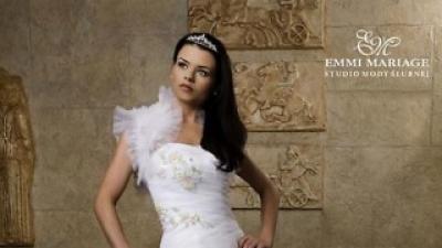 Piękna suknia ślubna MIMOSA