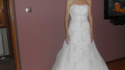 Piękna suknia ślubna Mori Lee 2192