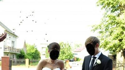 Piękna suknia ślubna OREA SPOSA l557