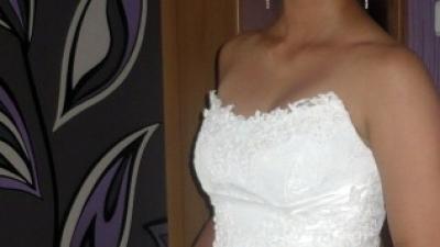 Piękna suknia ślubna plus gratisy