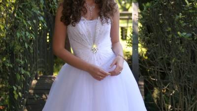 Piękna suknia ślubna princess tanio !