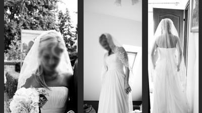 Piękna suknia ślubna PRONOVIAS model MARISA-TANIO