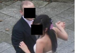 Piękna suknia ślubna-pudrowy róż