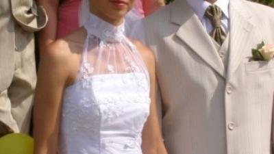 Piękna suknia ślubna roz. 34/36 zobacz warto!!!