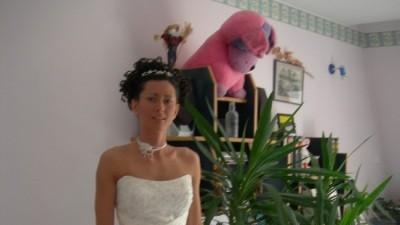 piękna suknia ślubna rozm 34-36