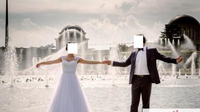 Piękna Suknia Ślubna rozm.36