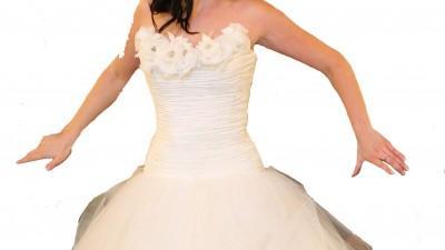 Piękna suknia ślubna rozm 38