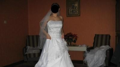 Piękna suknia ślubna rozm. 38-40 + dodatki
