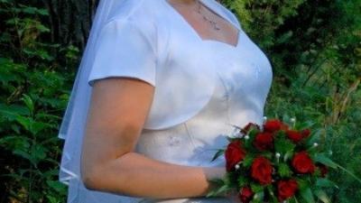 Piękna suknia ślubna - rozm 44