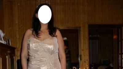 Piękna suknia ślubna rozm.46