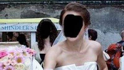 Piękna suknia ślubna San Patrick Casino - ivory 38