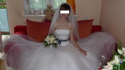 Piękna suknia ślubna Sincerity 3159