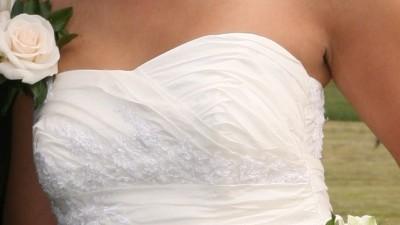 PIĘKNA suknia ślubna Sorella Ecru