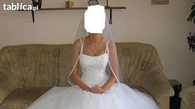 Piękna suknia ślubna Sottero&Midgley + buty (nieużywane) CARLO FERRUCCI
