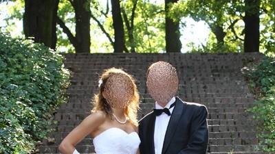 Piękna suknia ślubna szyta na miarę