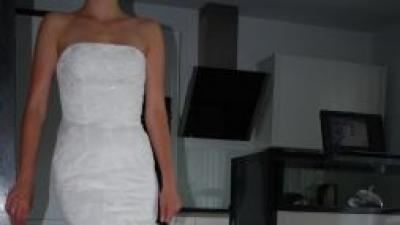 Piękna Suknia ślubna WHITE ONE model 424 PRONOVIAS