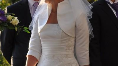 1989e03de7 suknia ślubna BYDGOSZCZ sprzedam piękną suknie ślubną kol. ecru ...
