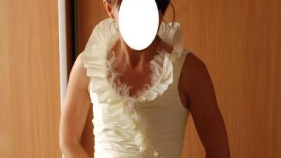 Piękna suknia ślubna-wzór Linea Raffaelli 2008