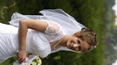 piękna suknia ślubna z bolerkiem+naszyjnik gratis