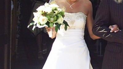 Piękna suknia ślubna z kolekcji Adabiel 2006