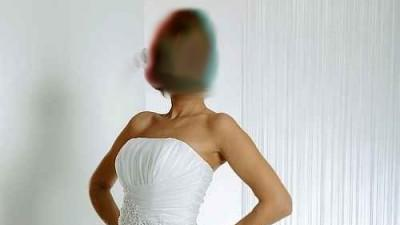 Piękna suknia ślubna z kolekcji Afrodyta