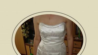Piekna Suknia slubna z LONDYNU ORYGINALNA !!!OKAZJA !!!