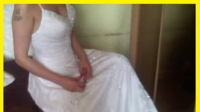 Piękna suknia ślubns