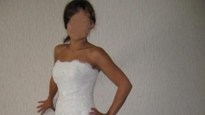 Piekna suknia The White One 176
